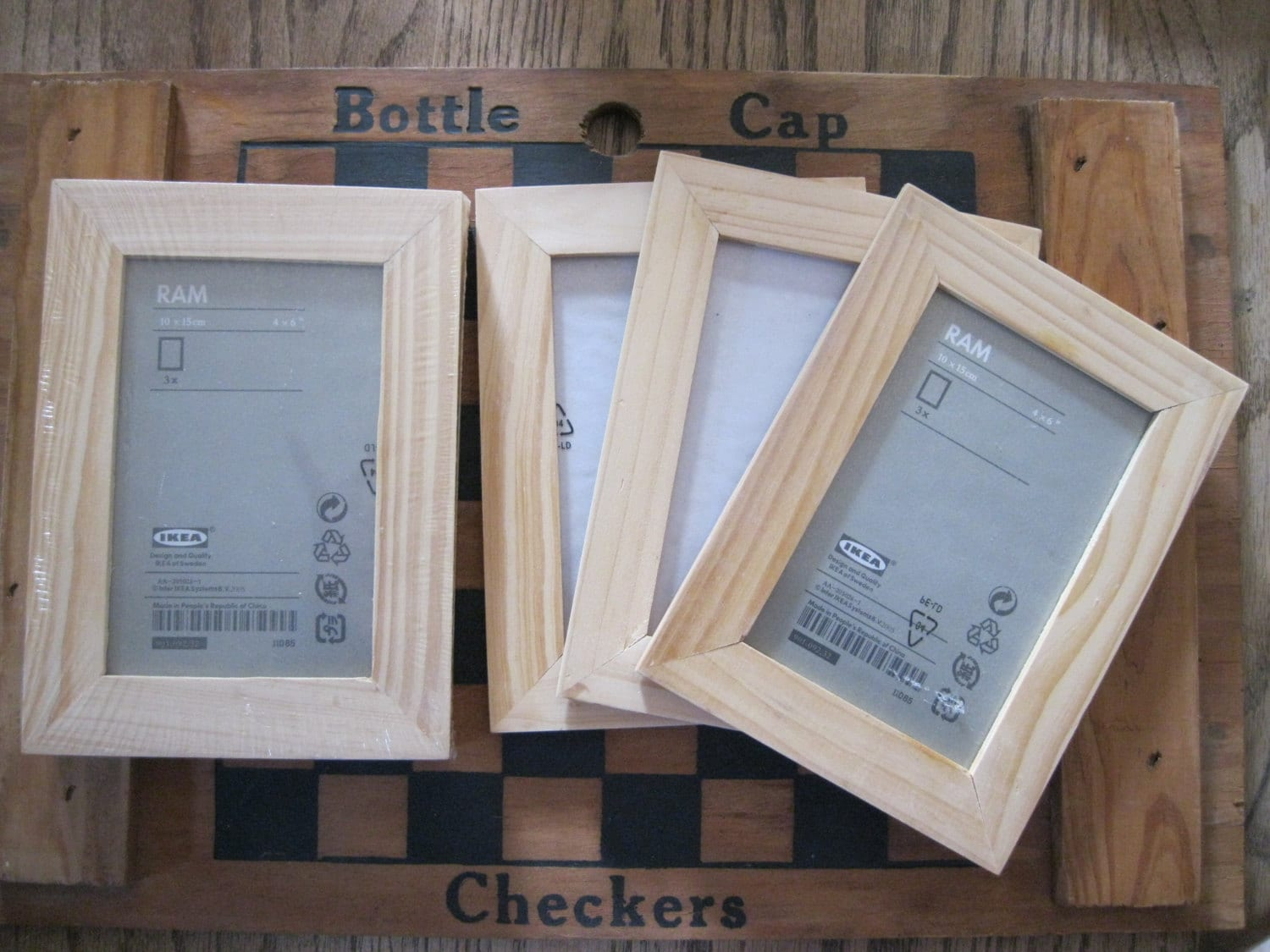 Funky Unfinished Wood Picture Frames Craft Inspiration - Picture ...